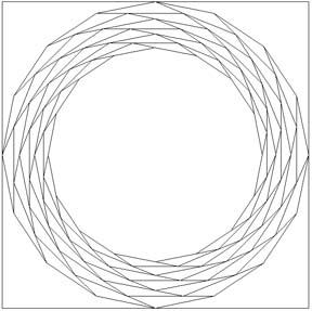16-sided spiral