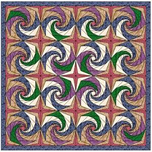 Flying Purple Spiral Eater