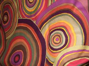 Rhonda circles fabric