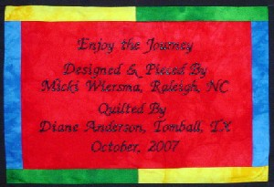 Micki Journey Label