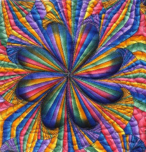 Micki rainbow borderdetail