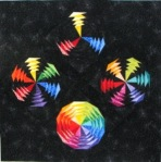 Dixie M Color Wheels in Space