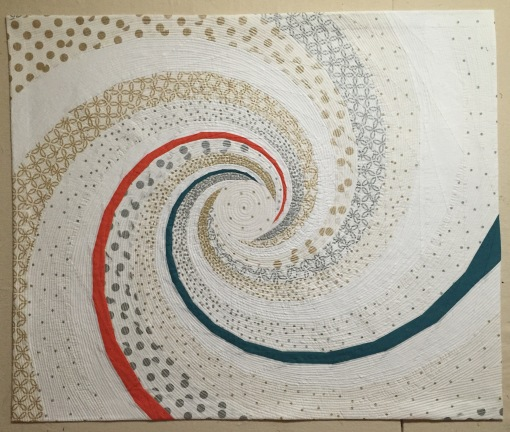 Betsy Vinegrad modern spiral 2015 QuiltCon